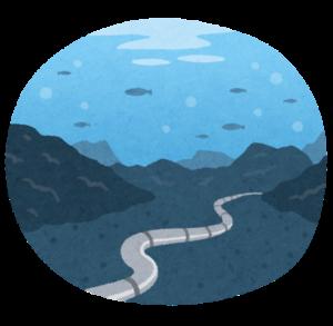 海底ケーブルのイメージ